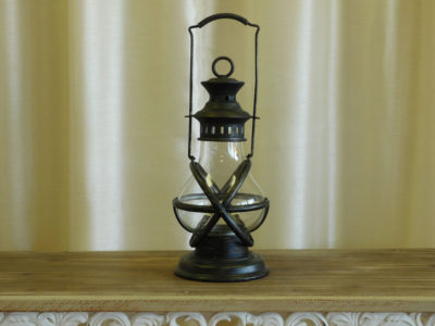 Antique Black Lantern for event rental