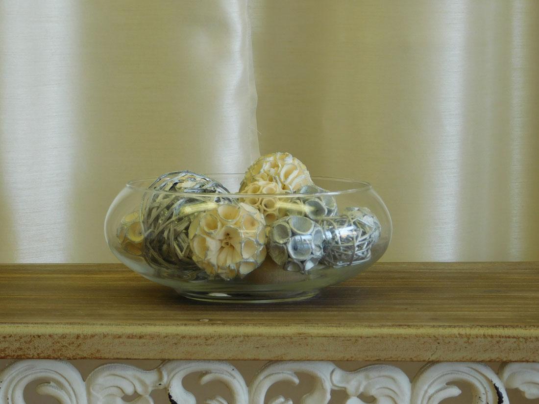 Bowl Of Decorative Balls Celebrations Event Rentals And