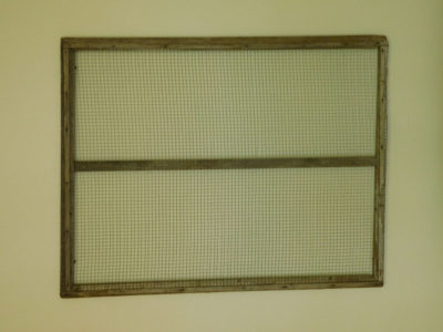Large Framed Wire Wall Decor for special occasion rental